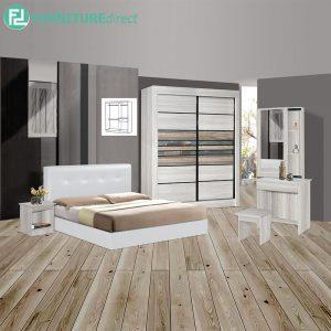 CELCOMBE piece queen size bedroom set-white