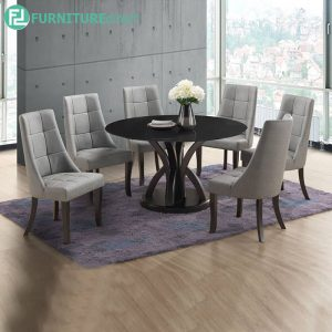 OARDER marble dining set 6 seater set
