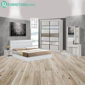 FAICASTCLA piece queen size bedroom set-white