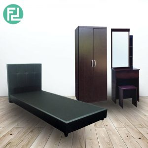 FOSTER single size bedroom set
