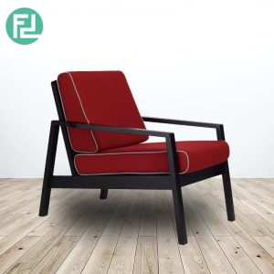 LATIO solid wood lounge chair