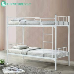 MARSON single size wire mesh base double decker bunk bed kids bunk bed
