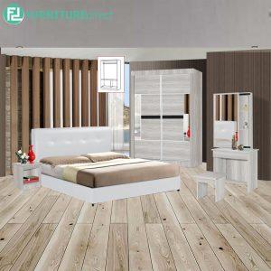 WESTTA piece queen size bedroom set-white