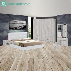 LEINLU piece queen size bedroom set-white
