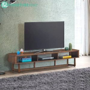 PELMIT 6ft TV cabinet-walnut