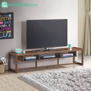 LAUPRISE 6ft TV cabinet-walnut
