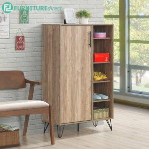 FRELISWAL shoe cabinet-walnut