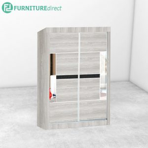 2901 sliding wardrobe with mirror - Natural