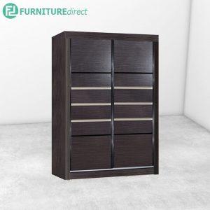 2914 sliding wardrobe - Cappuccino