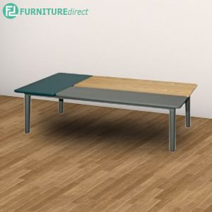 PATCHY coffee table full solid rubberwood