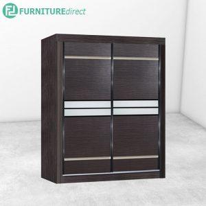 2812 sliding wardrobe - Cappuccino