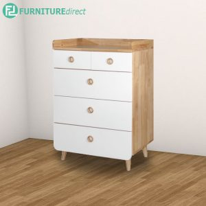 CARL Chest Of Drawer - Natural White
