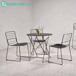 DUNGAR leisure chair - BLACK