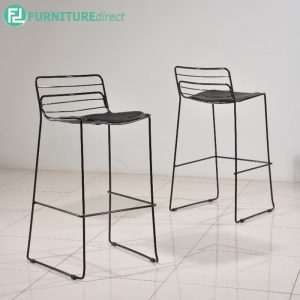 DEARNE bar chair - BLACK