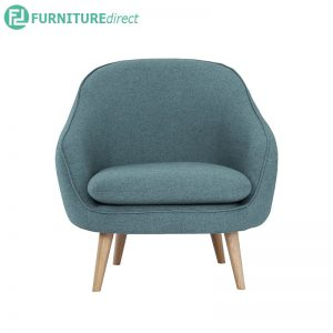 PRIUS 1 seater fabric sofa- 2 colors