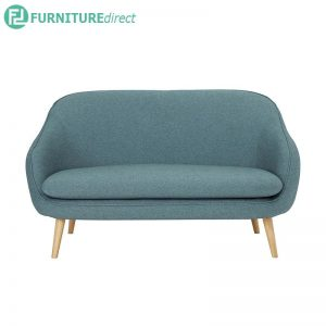 PRIUS 2 seater fabric sofa- 2 colors