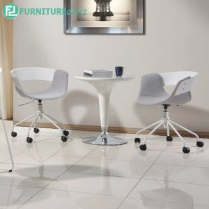 CRAWFORDSVILLE office chair and relaxing chair- WHITE
