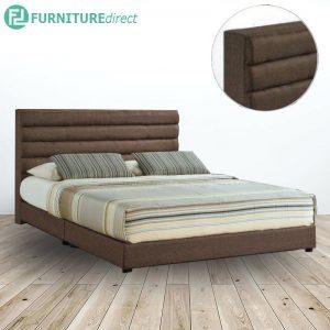 ALVIS 1760 queen size fabric divan bed frame
