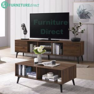 EDMOND 6ft tv cabinet with coffee table living set
