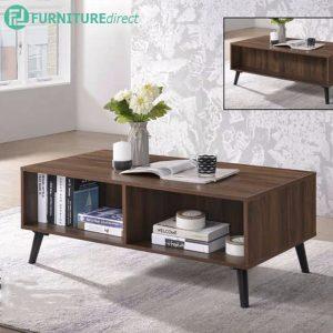 EDMOND 4ft coffee table-walnut