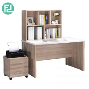 FLEXI 3 in 1 study desk office system with cabinets-4 patterns