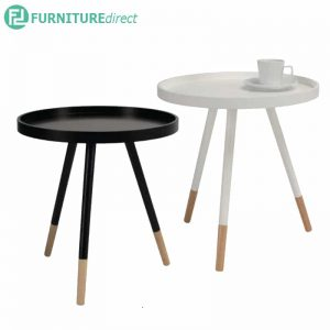 IRIS D46cm round coffee table side table