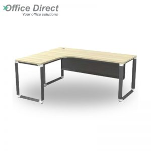 OML 1815 (L) Superior Compact Table with Metal Front Panel- Maple