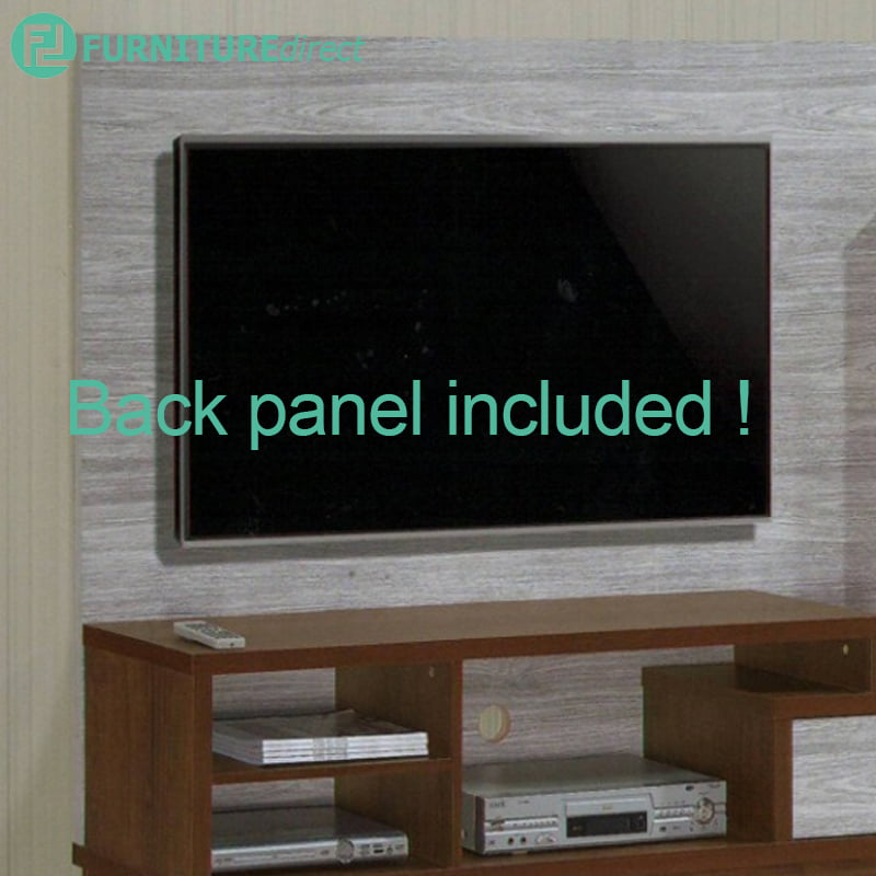 91111 Particle Board 6 Feet Entertainment System Tv Cabinet