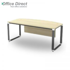 OWB 180A Executive Table with Wooden Front Panel - Maple
