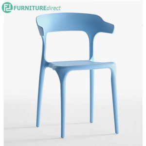 Bull PP plastic chair with ergonomic arm rest-3 colors