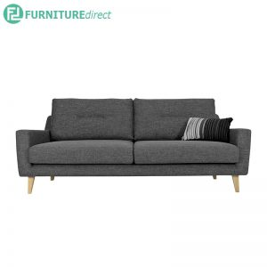 MALIBU 3 seater sofa - Removable Cushion Covers - 3 colors
