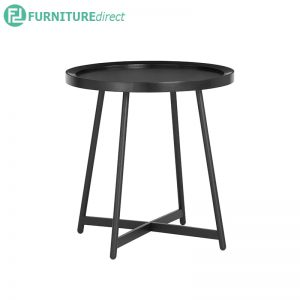 WAGNER (Ø50cm) Coffee Table - Black