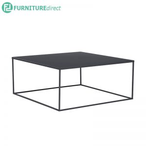 DARNELL (Square 80cm) Coffee Table - Metal lacquered - 3 colors