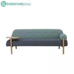 Lusso Daybed with Oak leg