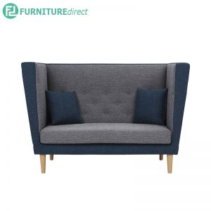 DASHER 2 seater sofa - Linsey Fabric