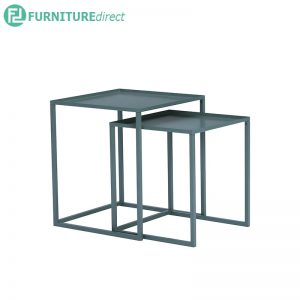CARIAD (Square 40,45cm) Set-of-2 Nesting Tables - 3 colors
