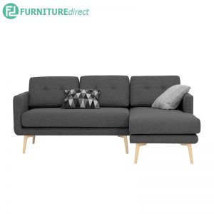 STREAM 3 seater sofa - L shaped sofa - 3 colors