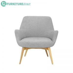 BERLINGO Lounge Chair - 100% polyester fabric - 3 colors