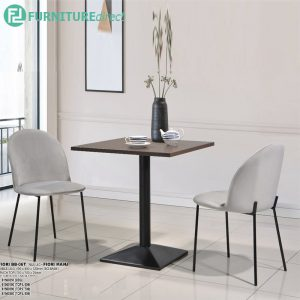 BB06 Melamine table top cafe dining set