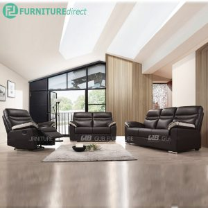 BENNY 1+2+3 seater PU sofa in recliner function