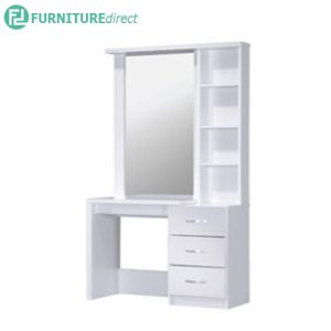 DT-1128 multi storage dressing table with mirror