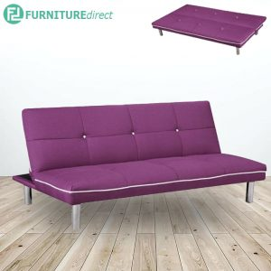 SB623 3 seater fabric sofa bed- 3 colors