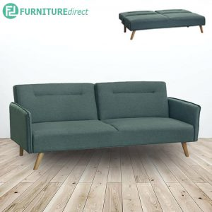 SB863- 3 seater fabric sofa bed- 2 colors