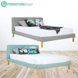 ZEUS queen size premium bed frame- 2 color available