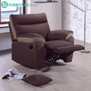 SONFRON 1 Seater Sofa Manual Recliner Chair- L105cm