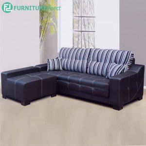 CAPEVAL 3 Seater Sofa with Stool for L Shaped - L216.5cm