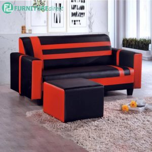 HAINESRAI 3 Seater Sofa with Stool for L Shaped - L169cm