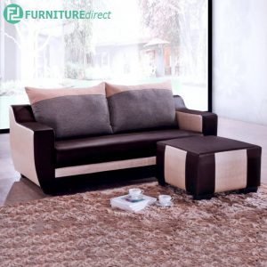 SHALBOT 3 Seater Sofa with Stool for L Shaped - L189cm