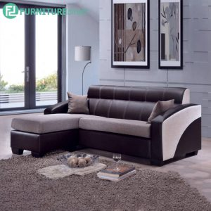 ACHARWAR 3 Seater Sofa with Stool for L Shaped - L191cm