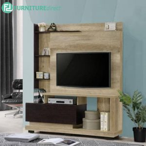 MATREE TV Cabinet with Stand Wall Unit 180cm (6ft) - Particle Board